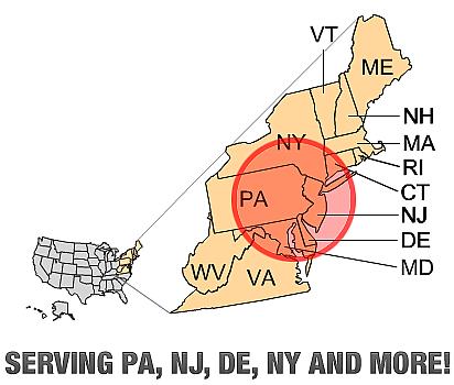 Serving PA, NJ, DE & NY